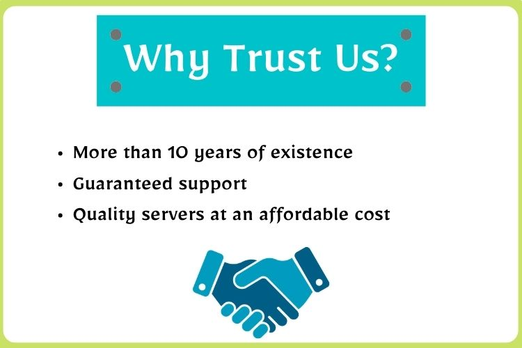 Why Trust Us?