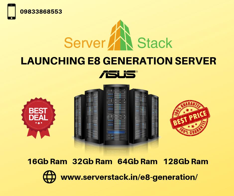 Serverstack- Launching E8 Generation Server