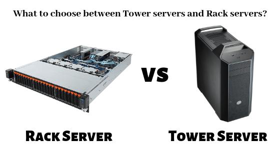 Serverstack- Choose Between Rack server & Tower Server