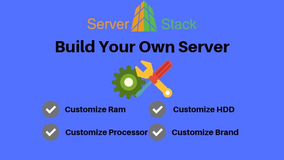 Serverstack- Build Your Own Server