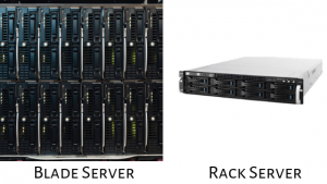 Difference Between Rack Server And Blade Server