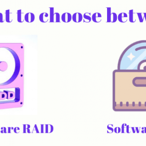 What to choose between Hardware RAID and a Software RAID?