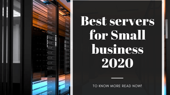 Best servers for small business 2020
