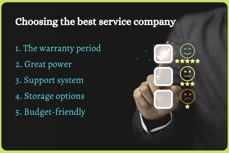 Why choosing the best service company is necessary?