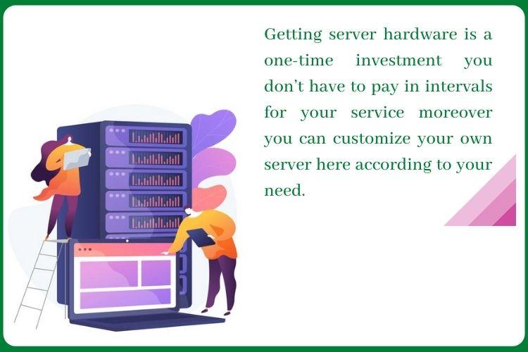 Advantages of buying Server hardware