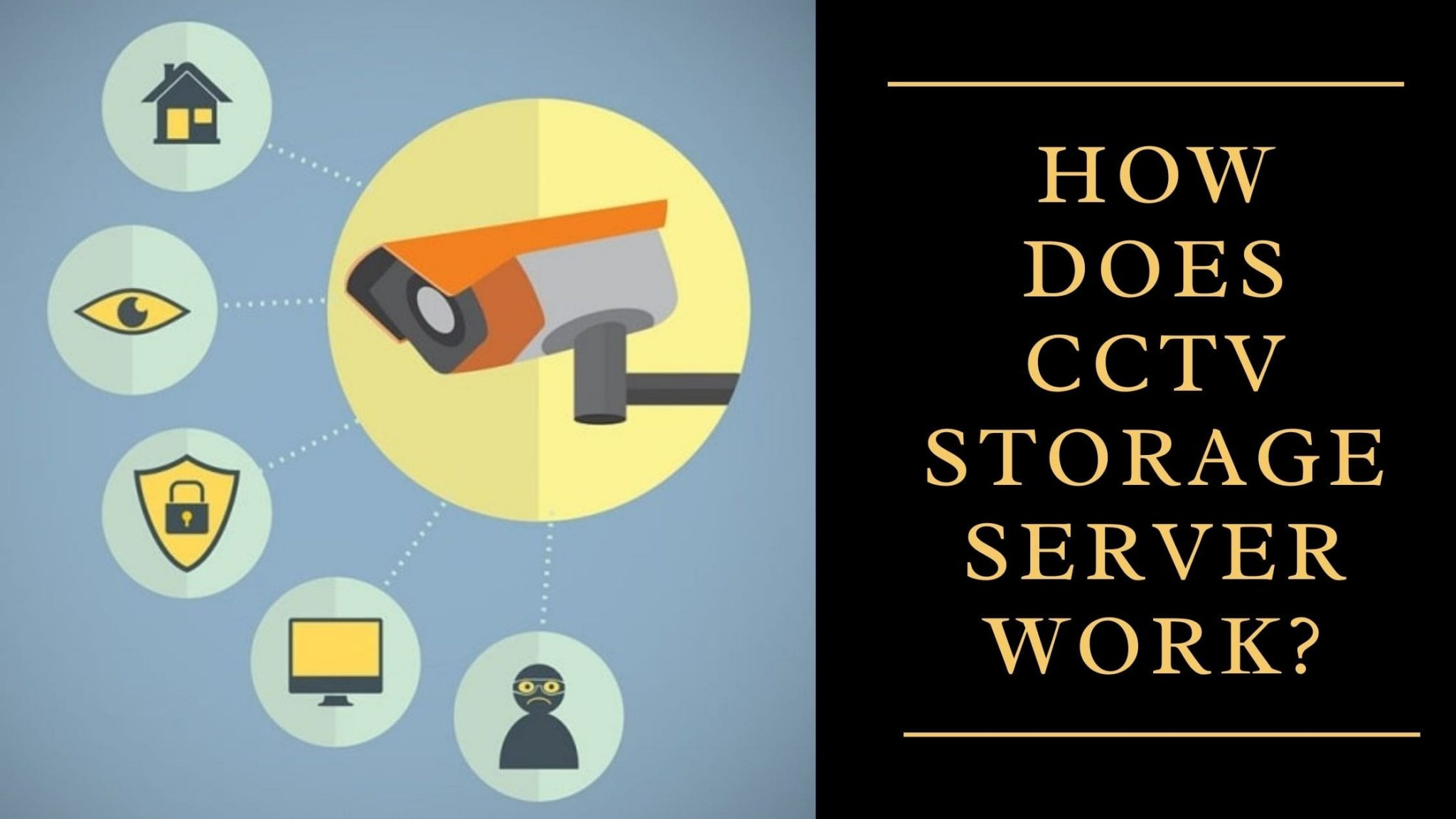How Does CCTV Storage Server Work?