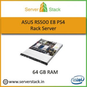 Asus RS500 E8 PS4 64GB Rack Server Price In India