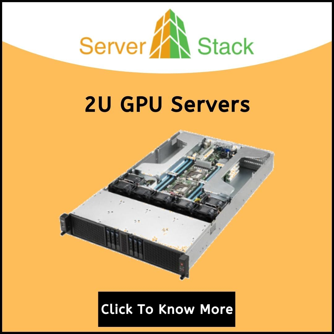 2u Gpu rack servers