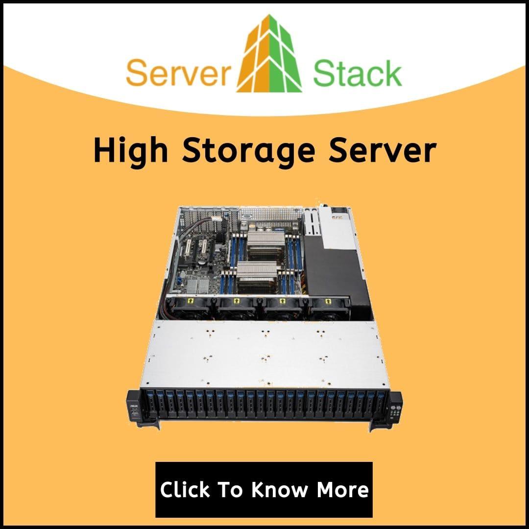 High Storage Server