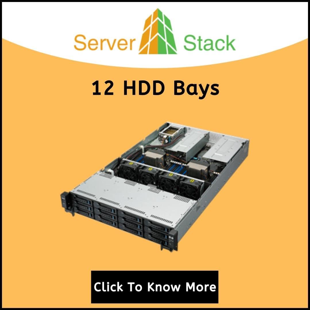 12 HDD Bays