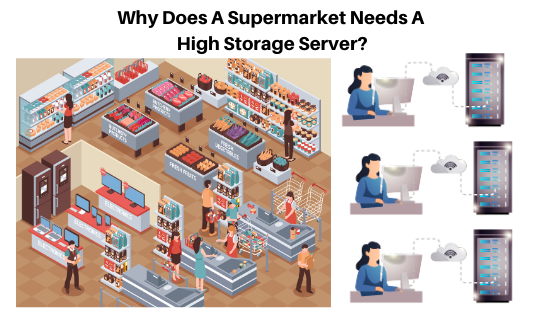 Why Does A Supermarket Needs A High Storage Server?