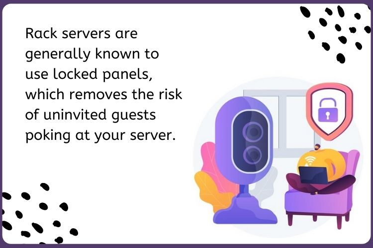What are the benefits of using Rack Server?