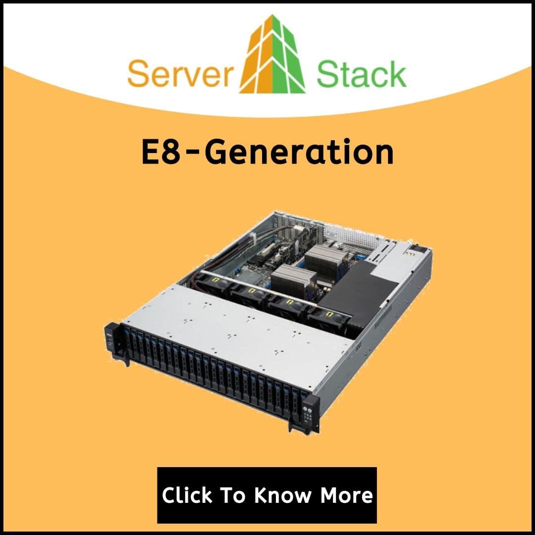 E8-Generation rack server