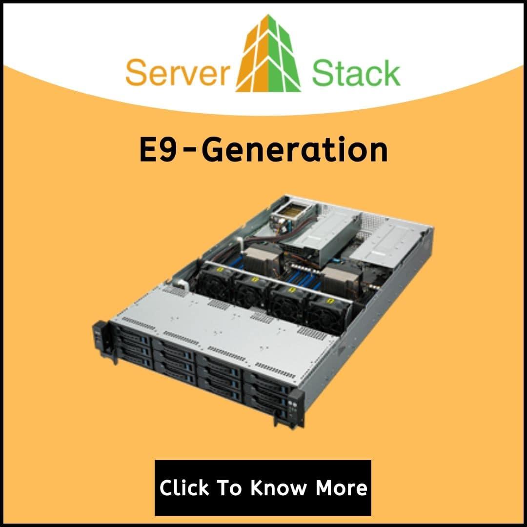 E9-Generation rack server