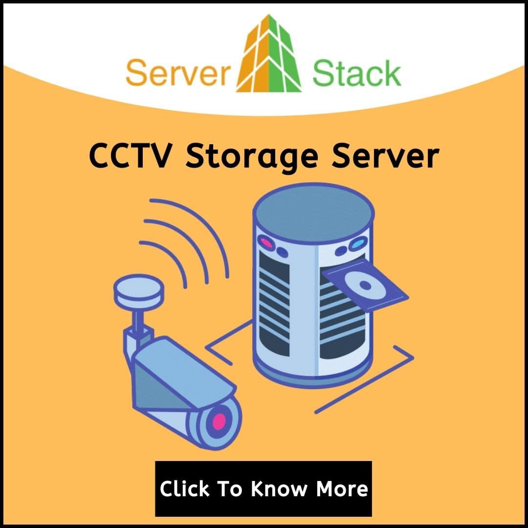 CCTV Storage Server