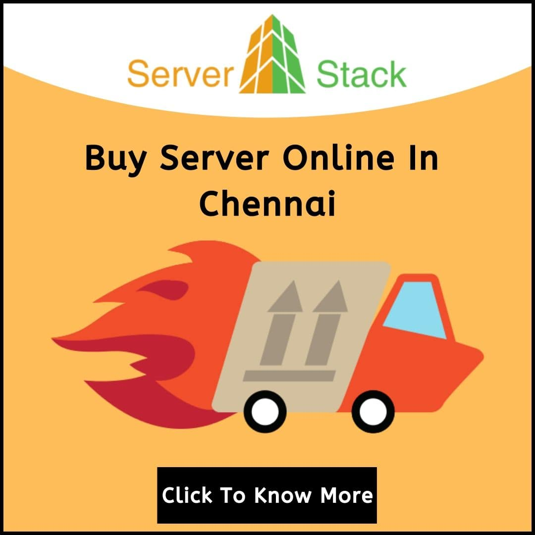 Buy Server Online In Chennai
