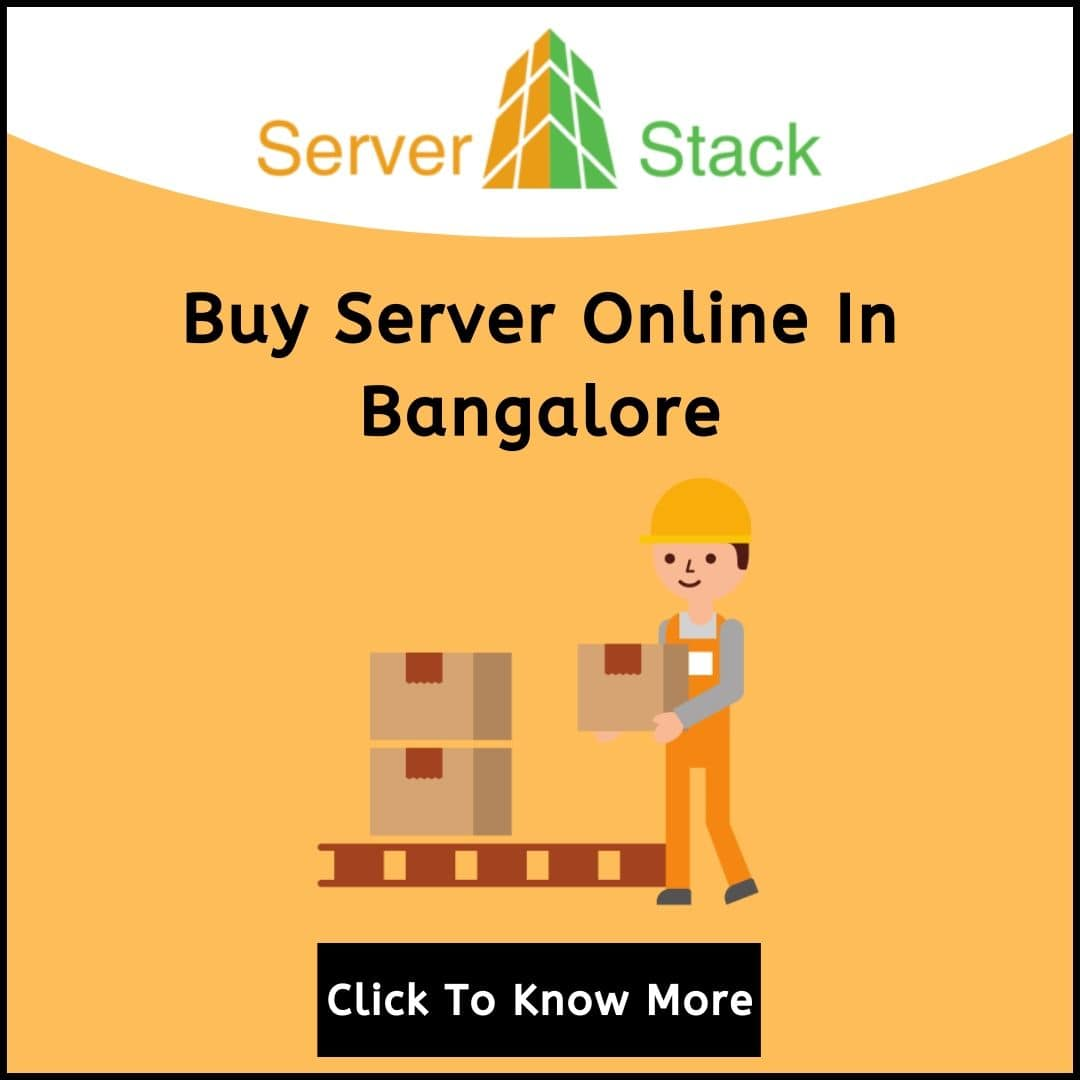 Buy Server Online In Bangalore