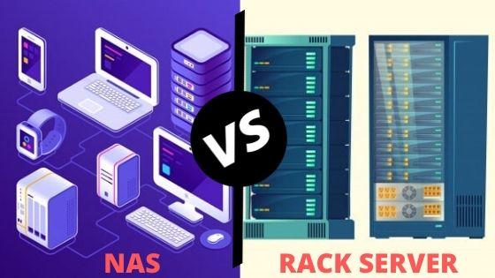 NAS vs Rack Servers