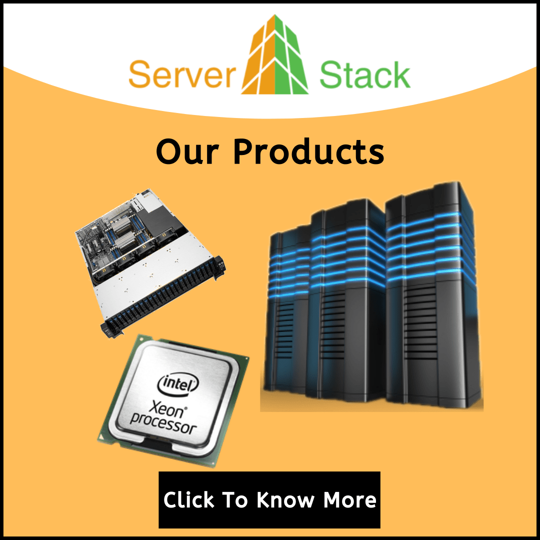 Serverstack Our Products