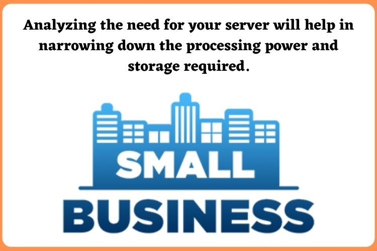 Analyzing the use case for your Small business server