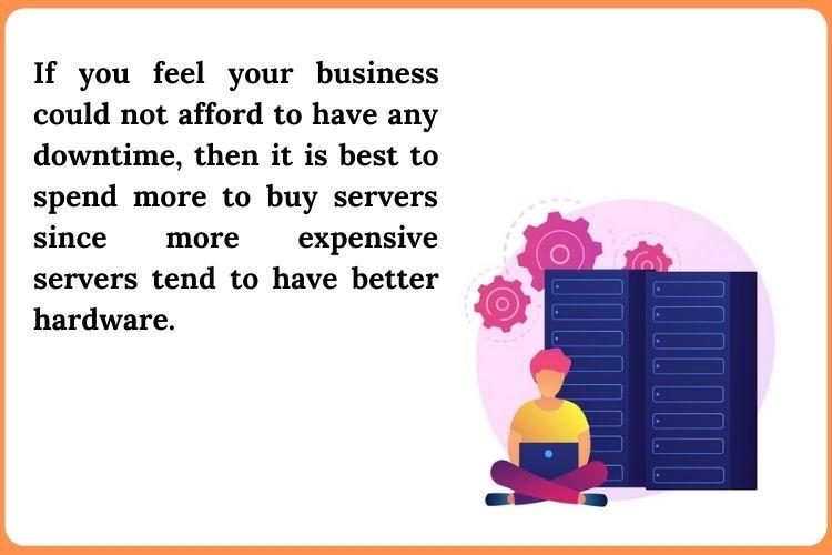 Deciding the budget of your Small business server