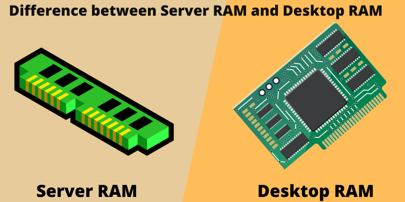 Difference between Server RAM and Desktop RAM