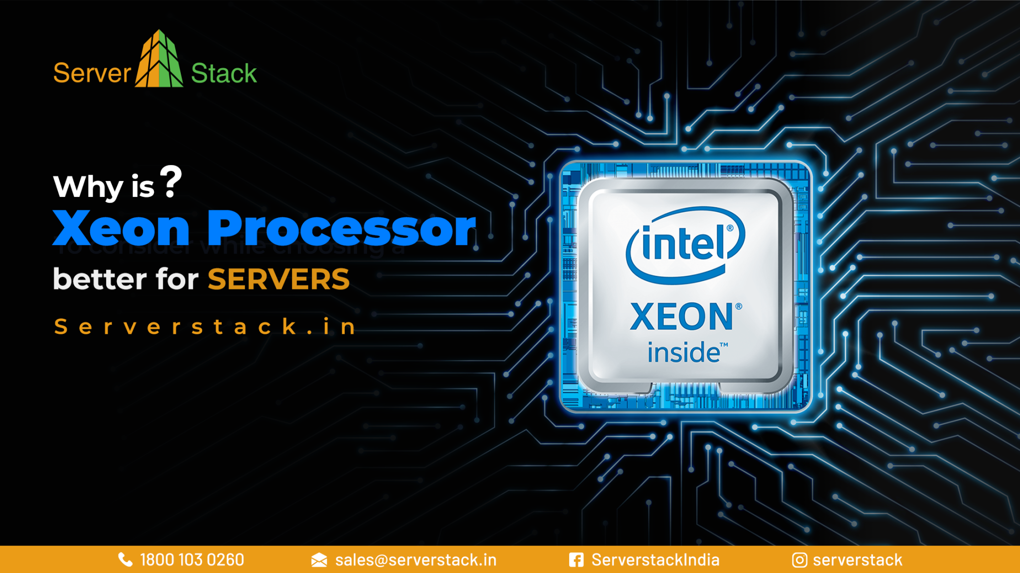 Why is Xeon processor better for servers?