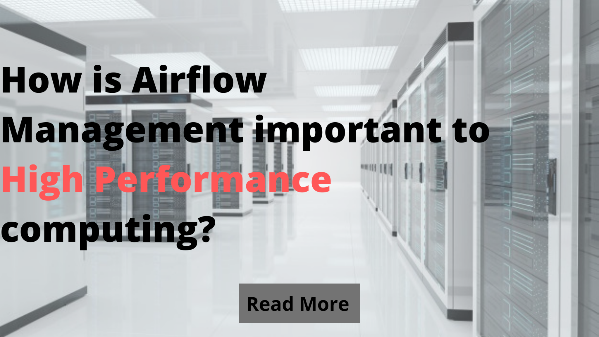 How is Airflow Management important to High Performance computing?