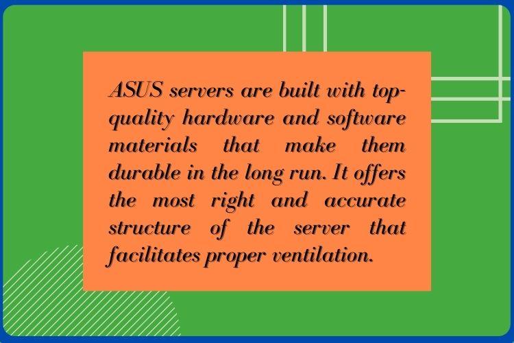 Asus Server Build Quality